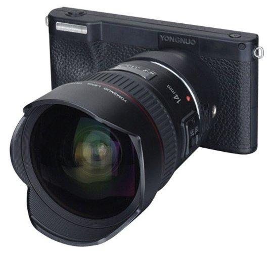 Yongnuo YN450: Kamera Mirrorless Pertama dengan Sistem Operasi Android