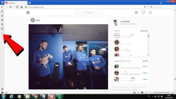 VIvaldi Instagram