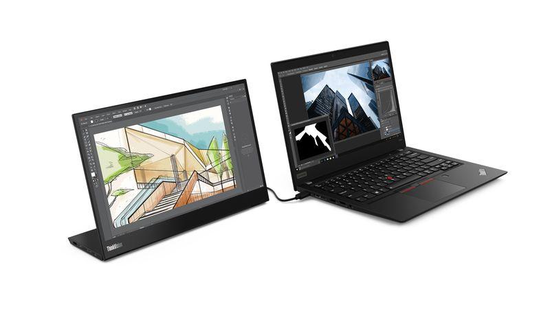 Lenovo ThinkVision M14: Monitor Portable 14 Inci yang Mudah Dibawa Bepergian 11