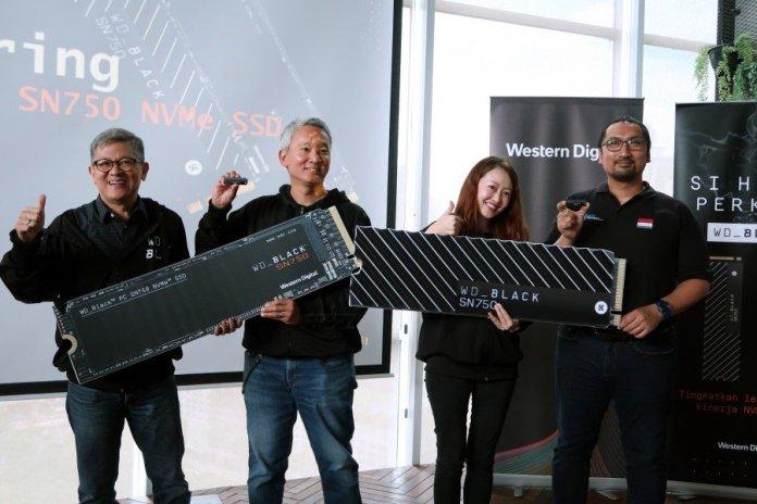 Hadir di Indonesia, WD Black SN750 NVMe Tawarkan Kapasitas Besar dan Performa Tinggi 1