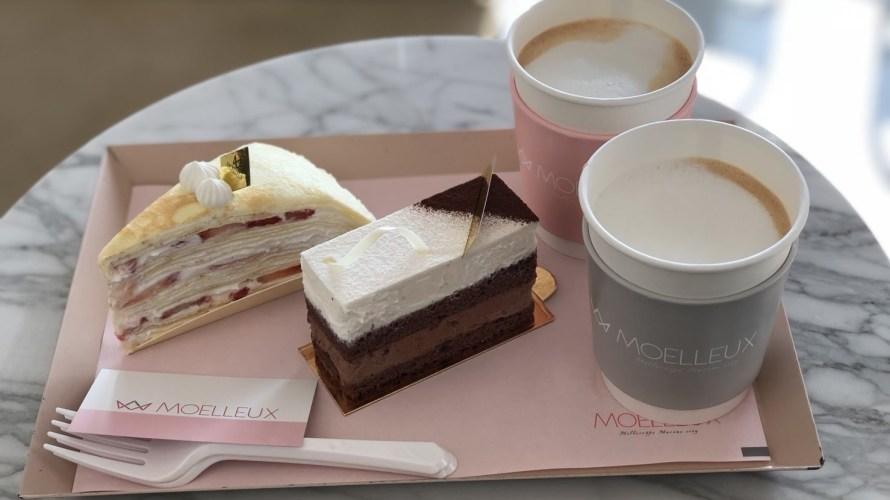 【韓国】釜山の高級住宅街にあるミルクレープのカフェ「MOELLEUX(모엘르 밀크레이프)」