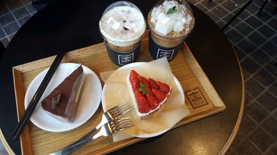 【韓国カフェ】コーヒーの美味しいおすすめチェーンカフェcoffee@works(コーヒーワークス)
