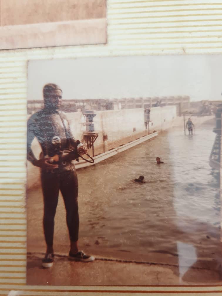 Souvenirs du président de Yanica Scuba : le club de plongée