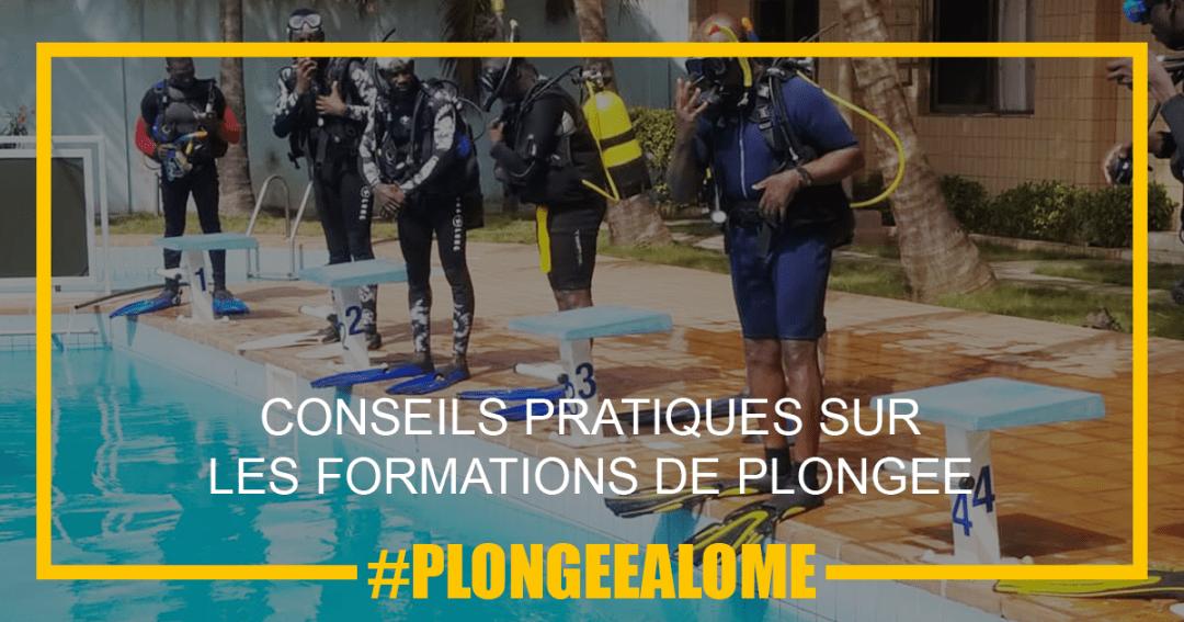 Conseils sur les formations de plongée FFESSM CMAS à Lomé
