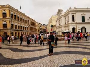 Hong Kong Macau Trip   Part 3   Macau   Senado Square   Ruins of St. Paul   The Venetion