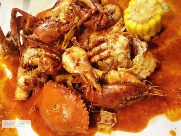 Asam Pedas Meat Crab & Freshwater Prawn