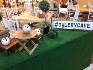 Santai Menikmati Hidangan di Owlery Cafe