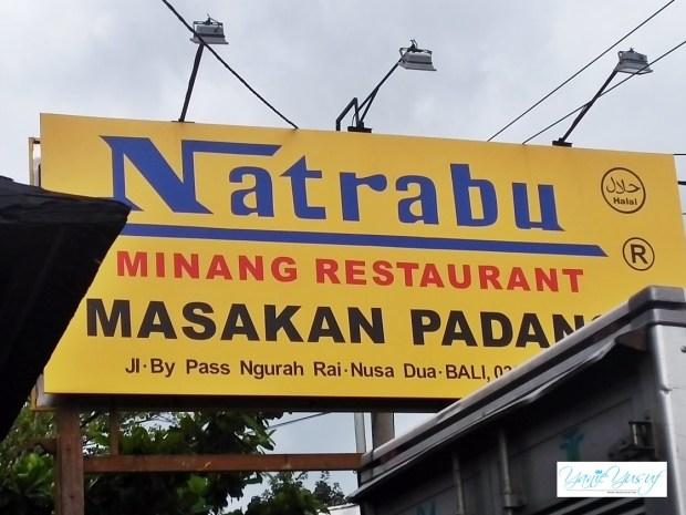 Masakan Padang Halal Di Bali Restoran Natrabu Minang