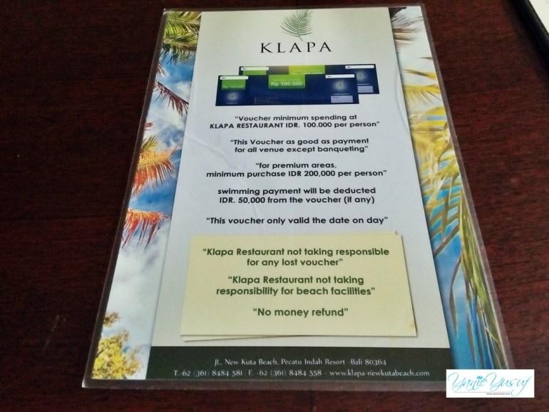 fee KLAPA New Club Mewah Di Bali Indonesia