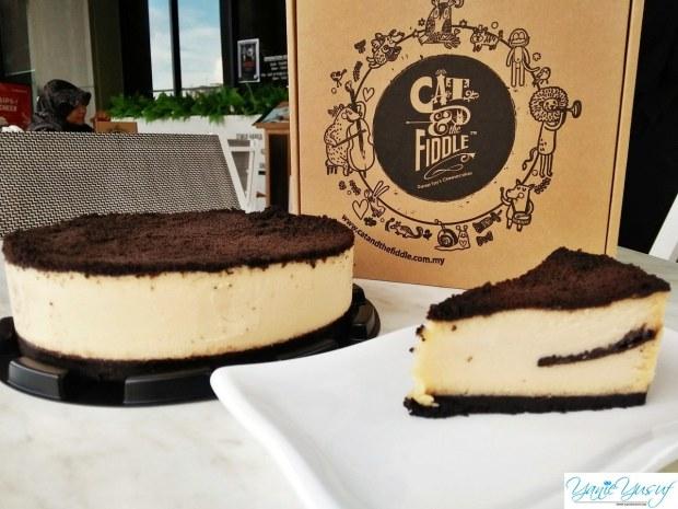The Modern Duke's Pudding (Oreo Cheesecake)