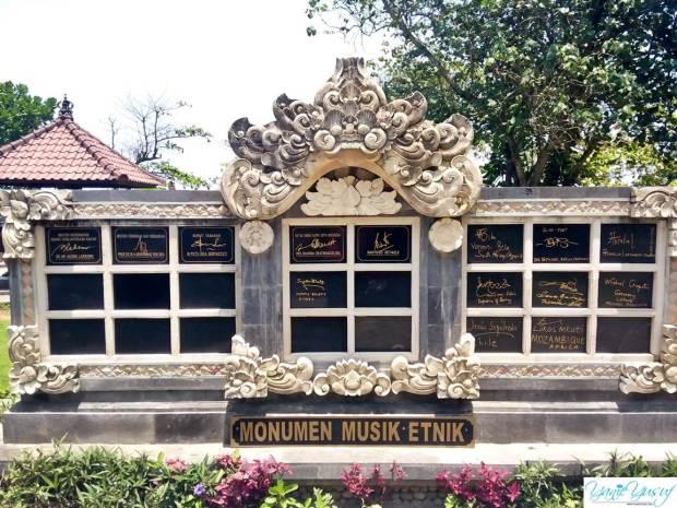Monumen Musik Etnik Bali