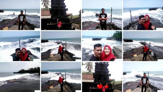 Percutian Hari Terakhir Di Tanah Lot Bali