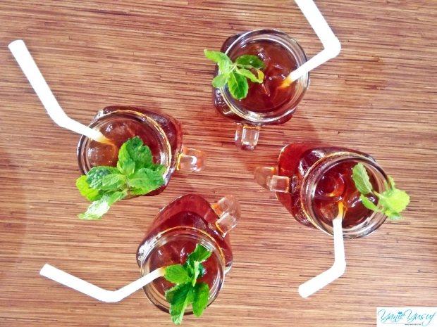 Minuman di Restoran Bale Udang Mang Engking Kuta Bali