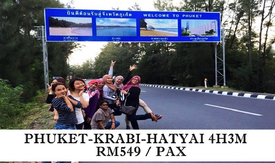 PAKEJ PHUKET - KRABI THAILAND
