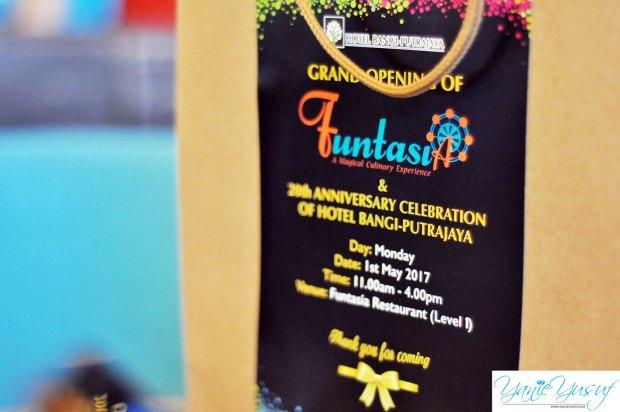 Grand Opening Restaurant FUNTASIA Hotel Bangi Putrajaya