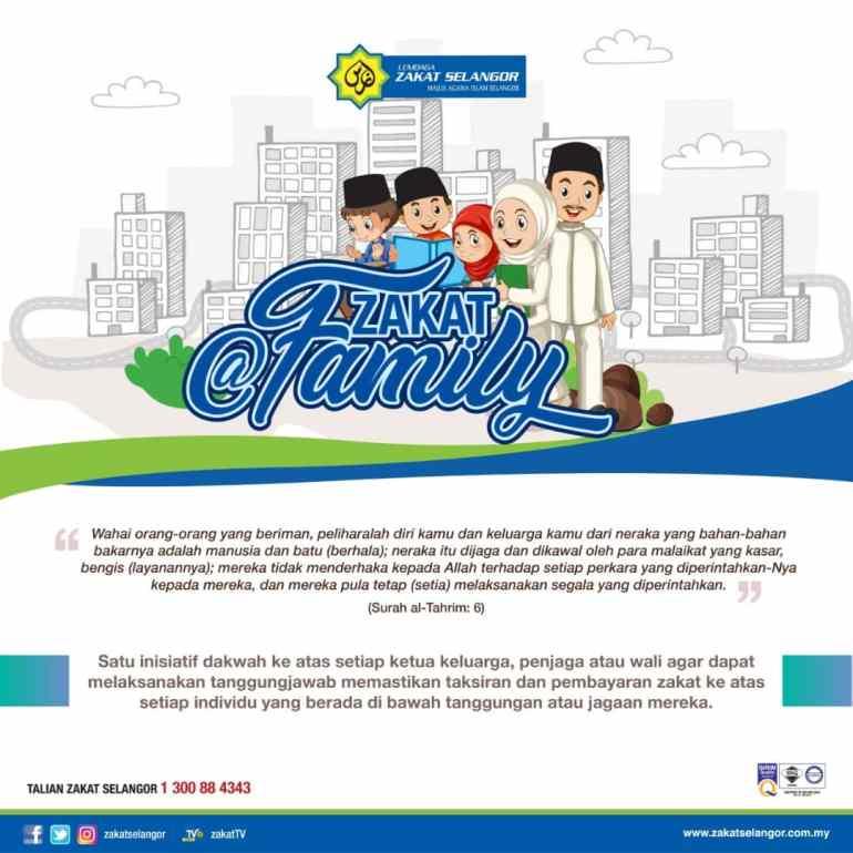 Kempen Zakat@FAMILY Oleh Lembaga Zakat Selangor