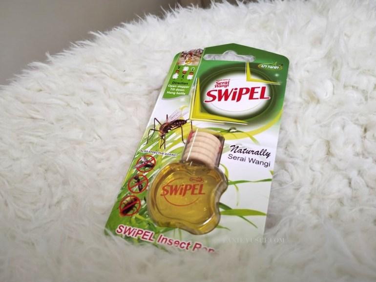 SWiPEL Membantu Menghalau Serangga dan Membersih Kotoran