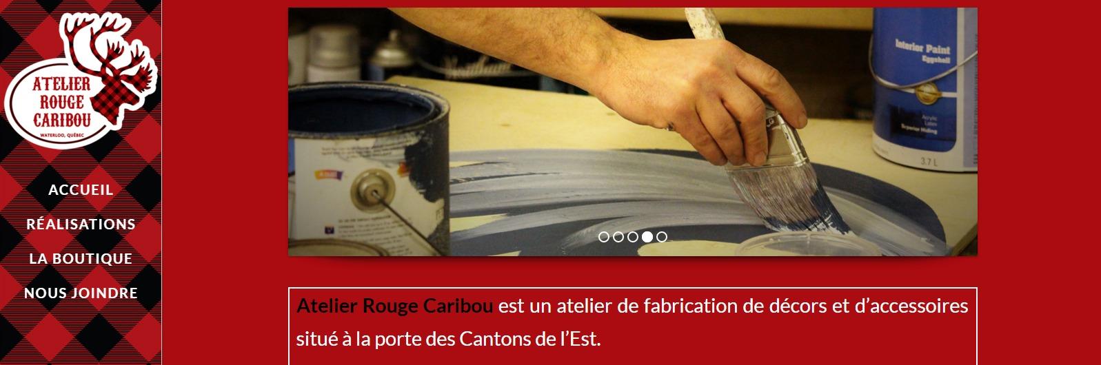 Accueil Atelier Rouge Caribou