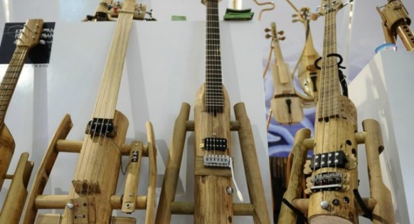 Bamboo Handicraft Product - Guitar Music