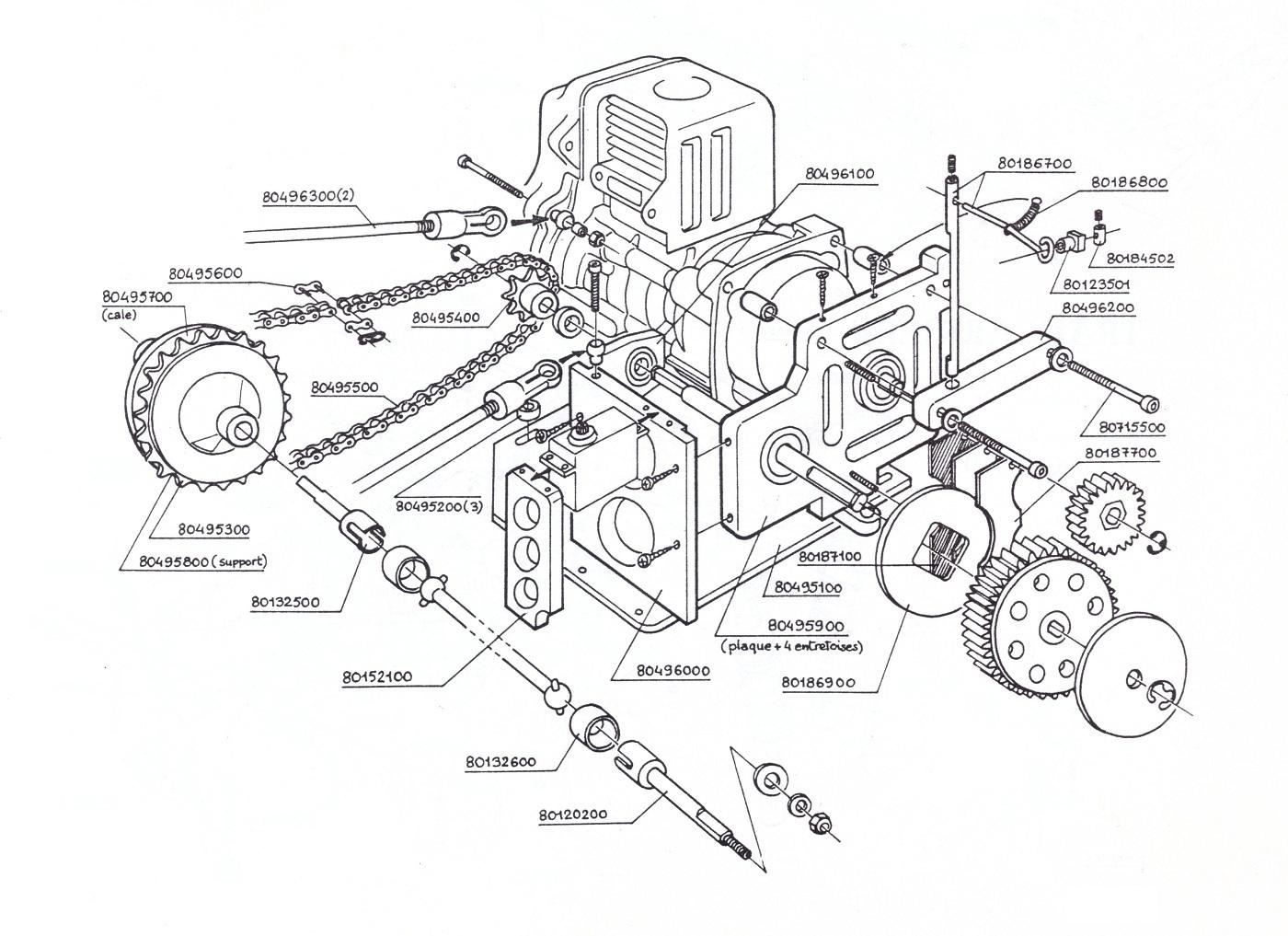 Chain Gear Plate