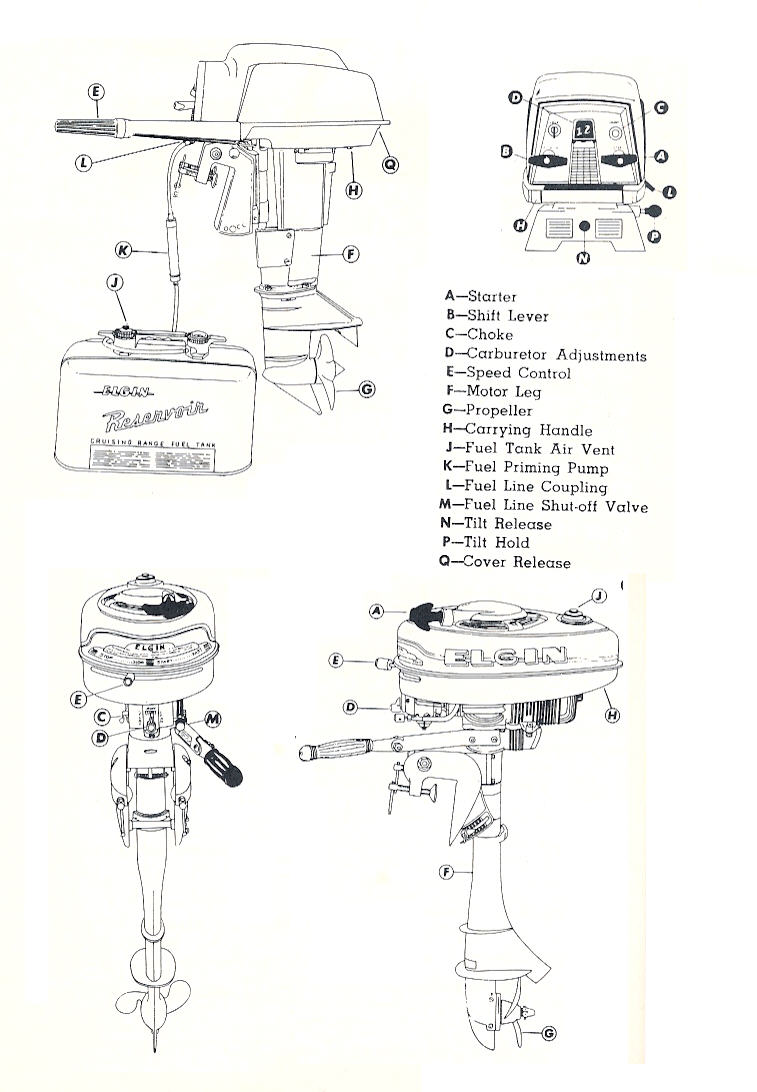 1963 West Bend Chrysler Outboard 18 Hp Parts Catalog