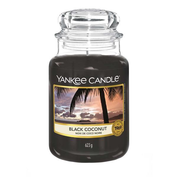 Black Coconut Large Classic Jar