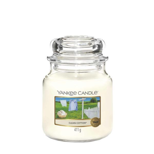 Clean Cotton Medium Classic Jar