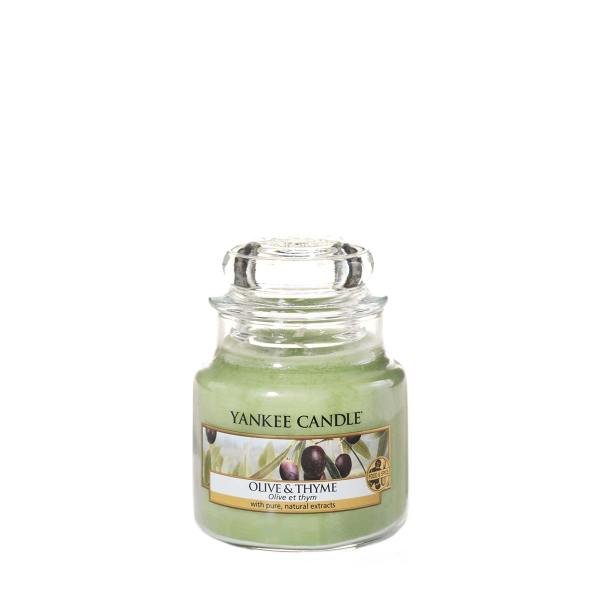Olive and Thyme Small Classic Jar