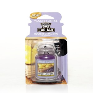 Yankee Candle Car Jar - Lemon Lavender Fragrance