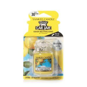 Yankee Candle Car Jar Ultimate - Sicilian Lemon Fragrance