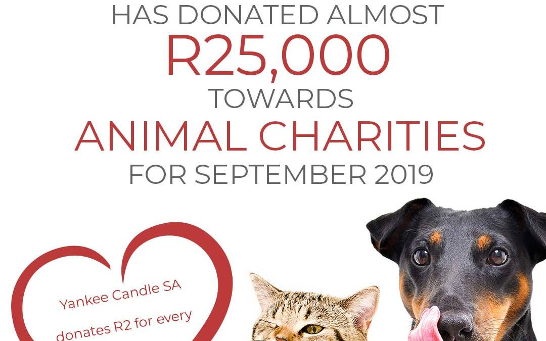 Yankee Candle Animal-Charity-Donations