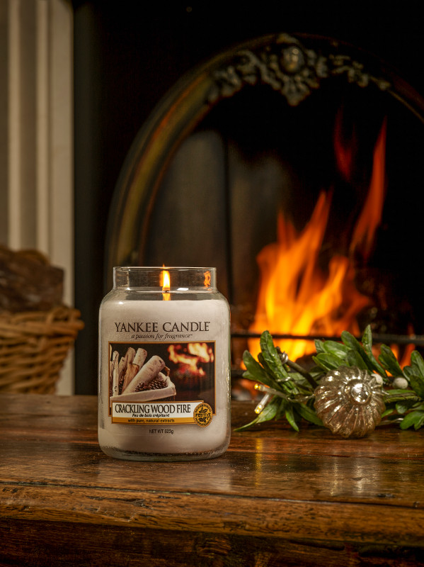 Crackling Wood Fire Fire Portrait