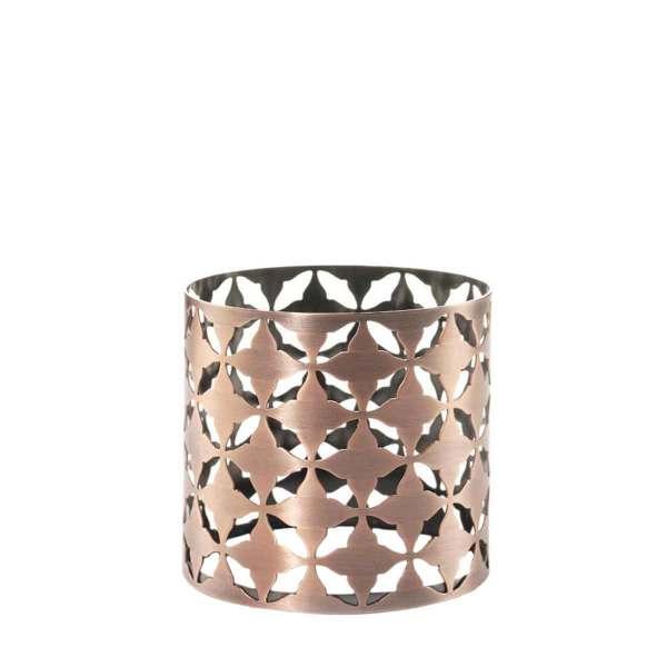 Jar Holder Moroccan Copper