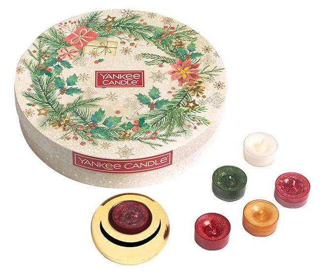 mas 20 Tea Lights (18) Gift Set & 1 Holder