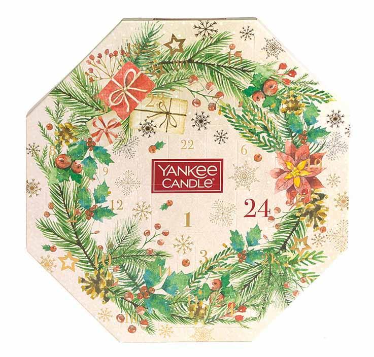 Xmas 20 Advent Wreath 24 Tea Lights & 1 Holder