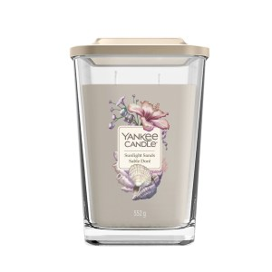 Elevation Sunlight Sands Large Square Candle 15491067E