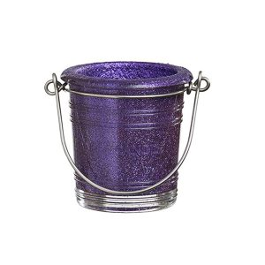 Glitter Votive Holder Purple 1