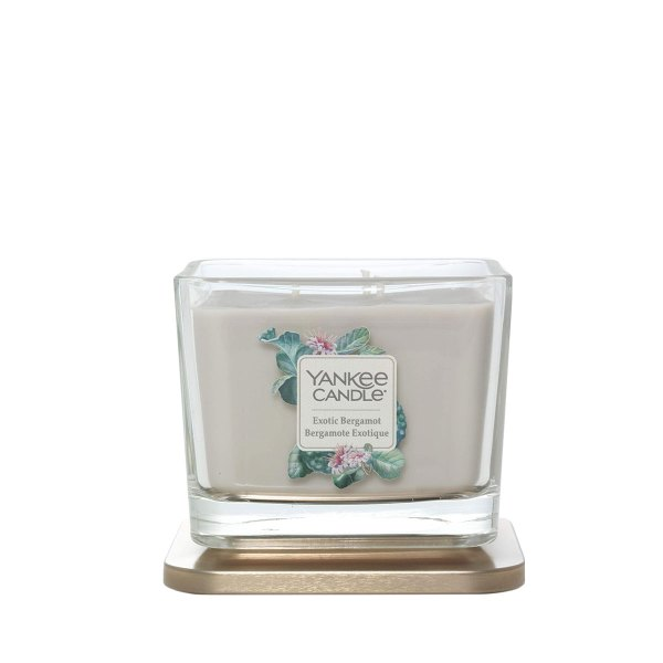 1591097E Exotic Bergamot Medium Elevation Square Candle
