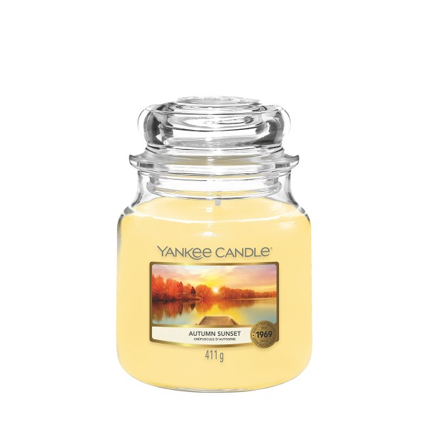 Yankee Candle Autumn Sunset Medium Jar Candle