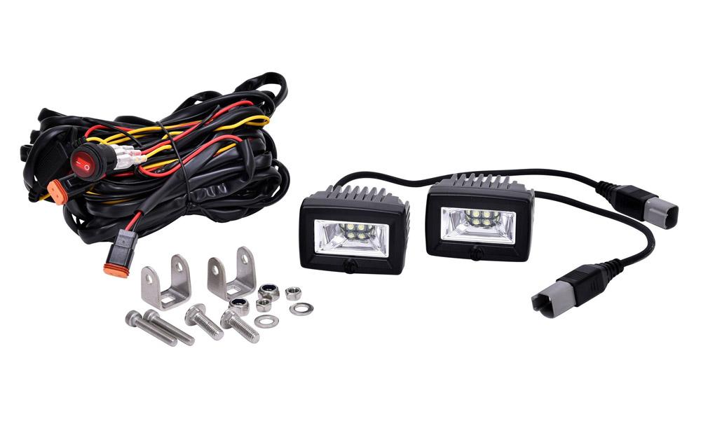 KC HiLiTES LED Backup Flood Lights, Truck and SUV Lighting