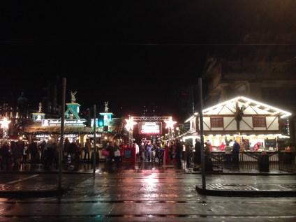 Edinburgh Christmas Markets on Princes Street