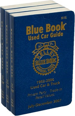 What's The Blue Book Value On Kelley Blue Book?  The