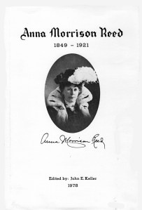 Anna Morrison Reed Cover