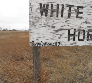 White Horse South Dakota, Population 117