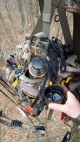 Coffee in the treestand