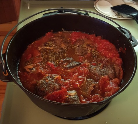 Osso buco in dutch oven
