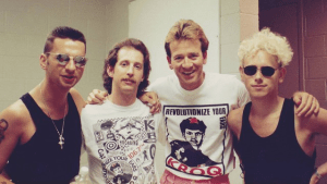Richard Blade And Depeche Mode
