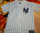 New York Yankees CC Sabathia Majestic 2010 Home Jersey Size Youth XL
