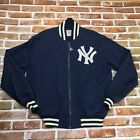 Vintage Starter Authentic Diamond Collection NEW YORK YANKEES Jacket XL Full Zip
