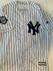 Derek Jeter #2 New York Yankees Jersey With Captain Patch Men's Size XL